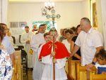 Wprowadzenie księdza Romana Sosnowskiego na urząd Proboszcza